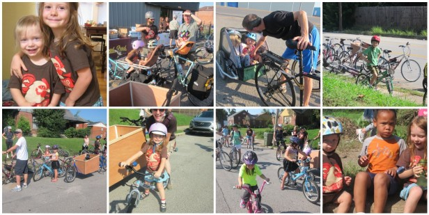kids of the tour de coop 2014