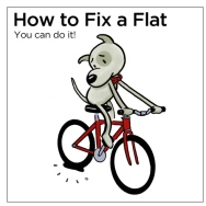 how-to-fix-a-flat-bicycle-tire by Fixpert Comics