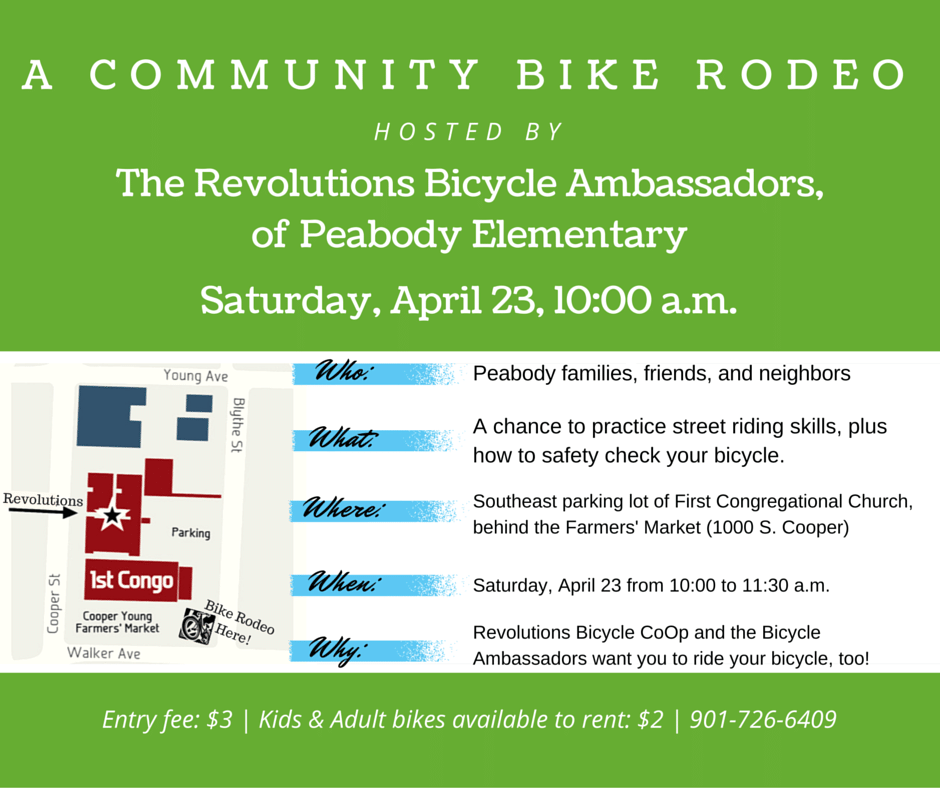 Bike Rodeo facebook post
